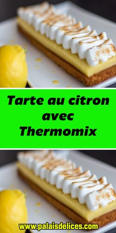 Dessert Thermomix, Cooking Chef, Meringue, Ice Cube Trays, Macarons, Deserts, Scrap, Food And Drink, Nutrition