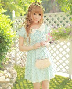 such a pretty dress ~