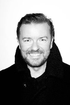 Ricky Gervais by Terry Richardson