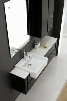 Contemporary 1500mm Napola Wall Hung Soft Closing Black Bathroom Vanity | AUD 1145.00