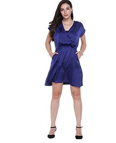 Monroe S Womens V Neck Pleated Pocket A-Line Party Cocktail Mini Dress Skirts Kimono No description (Barcode EAN = 3749301467880). http://www.comparestoreprices.co.uk/december-2016-5/monroe-s-womens-v-neck-pleated-pocket-a-line-party-cocktail-mini-dress-skirts-kimono.asp