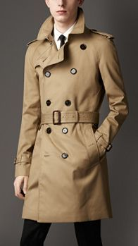 Mid-Length Technical Cotton Trench Coat | Burberry