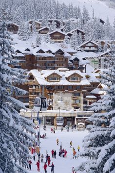 French alps mountain resort take me there now please