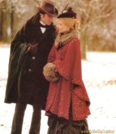 Newland Archer (Daniel Day Lewis) and Ellen Olenska (Michelle Pfeiffer) The Age of Innocence (1993)