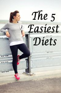 The 5 easiest diets