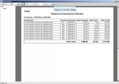SGAE - Sistema para Controle de Empréstimos para Funcionários - Visão Geral