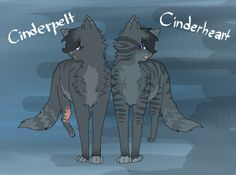 Cinderheart Cinderpelt comparison warrior cats (there the same cats!)