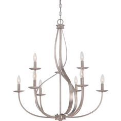 Emely with Italian Fresco Finish, Two Tier Chandelier With 9 Lights: Feminine, airy and radiant are just a few words to describe the almost ethereal quality of the Emely Chandeliers. The swirling fixture appears in motion and is enhanced by the stunning Italian Fresco finish.