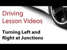 Video on dealing with turning left and right at junctions for all you people taking driving lessons nottingham. http://www.mydrivinginstructortraining.com