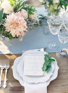 Chase and Justin Wedding – Cal-a-Vie #tablesetting