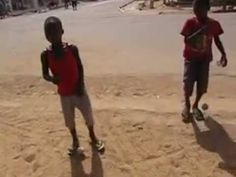 Homemade Toys in Togo Africa - YouTube