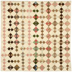 4 Patch  1860s  New England Quilt Museum