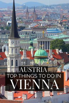 Discover the top things to do in Vienna Austria. Explore the baroque styled historic center of Vienna Old Town, a city filled of classical music connections. From the Vienna Christmas market to the Naschmarkt, find some of the best food with our guide to things to do in Vienna Austria. Great Photography and architecture highlights await on your adventure to Vienna Austria.