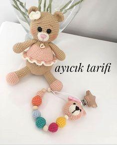 Crochet Dolls Free Patterns, Amigurumi Patterns, Amigurumi For Beginners, Workshop, Bear Doll, Amigurumi Toys, Stuffed Toys Patterns, Handmade Accessories, Handmade Toys