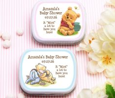 Everyone loves Winnie, and we have the perfect favor for your Winnie The Pooh baby shower or children's party