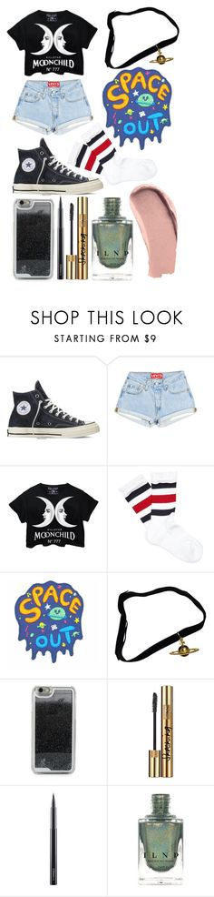 """Untitled #54"" by sofi-the-first1912 on Polyvore featuring Converse, Killstar, Gucci, Vivienne Westwood, LMNT, Yves Saint Laurent, MAC Cosmetics and Burberry"