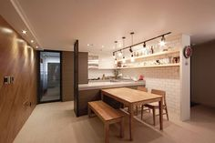 apartment interior - Jeonju eld landmine apartment - Design Two Fly: Design Two Fly Dining Room Apartment Interior, Apartment Design, Modern Interior, Interior Design, Home Fashion, Interior Inspiration, Interior Ideas, Sweet Home, Idol