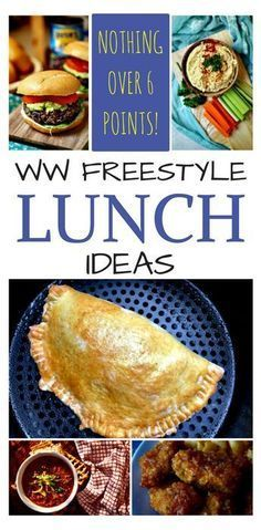 weight watchers freestyle lunch ideas