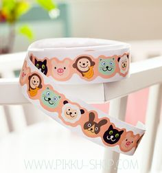 Decorative paper tape with several fun designs to choose from. Kawaii Stickers, Cute Stationery, Paper Tape, Paper Decorations, Dog Bowls, Cool Designs, Shop, Fun, Paper Ornaments