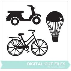 Freebie: Summer Die Cuts segells transports vehicles