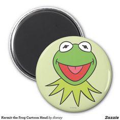 The muppets - Kermit la cabeza del dibujo animado de la rana imán redondo 5 cm, home decor, decoración. Regalos, Gifts. Producto disponible en tienda Zazzle. Product available in Zazzle store. Link to product: http://www.zazzle.com/kermit_la_cabeza_del_dibujo_animado_de_la_rana_iman_redondo_5_cm-147685203329729944?lang=es&design.areas=[round_magnet_225_front]&CMPN=shareicon&social=true&rf=238167879144476949 #imán #magnet