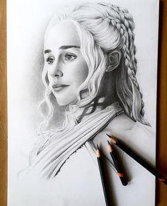 Daenerys Targaryen by FinAngel.devianta… on – Sabine Ullmann – Daenerys Targaryen by FinAngel.devianta… on – Sabine Ullmann – Game Of Thrones Drawings, Dessin Game Of Thrones, Arte Game Of Thrones, Game Of Thrones Artwork, Portrait Sketches, Pencil Portrait, Portrait Art, Portraits, Realistic Pencil Drawings
