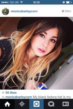 fblogger Monica hair inspo