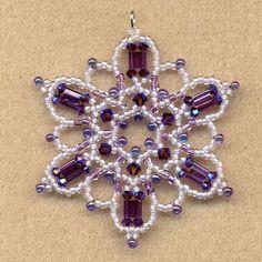 FOX DEN DESIGNS made this beautiful Snowflake.