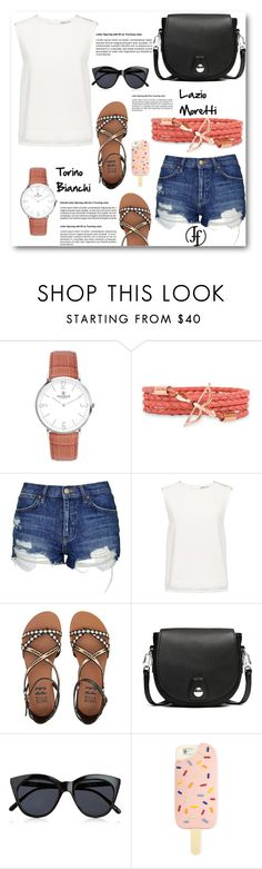 """""""Be you!"""" by lamiya-c ❤ liked on Polyvore featuring Topshop, Finders Keepers, Billabong, rag & bone, Le Specs, Tory Burch and francoflorenzi"""