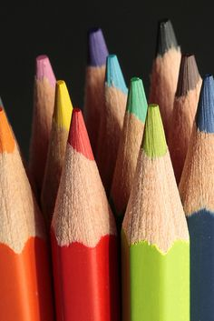 Colored pencils-don't forget a sharpener!