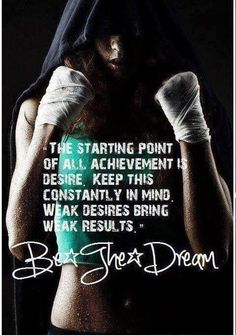 Desire is the starting point