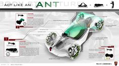 """Country: China Vehicle Title: Mobilliant Global Design Director: Anthony Williams-Kenny China Design Director: Shao Jingfeng Design Team: Xu Dengtao, Ling Yuzhou, Ji Zhiheng, Niu Wenbo, Zhang Mingxi, Qian Junlin Summary: Inspired by a simple ant's distinctive body structure and the mutually beneficial relationship between ants and trumpet trees, SAIC Motors designed Roewe """"Mobiliant."""" Mobiliant is …"""