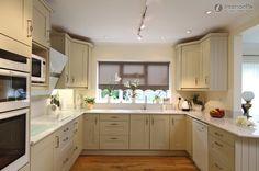 corner cabinet u shaped small kitchen - Google Search