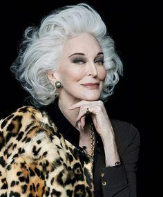 Carmen Dell'Orefice, 85 años de belleza eterna
