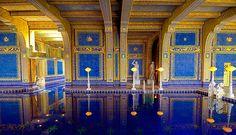 Blue Pool, Hearst Castle, San Simeon, California