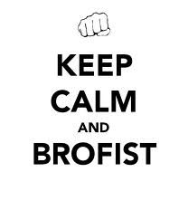 keep calm and brofist!!!!!! this is a quote from pewdiepie he is one of the epicest and funnest duck in he hole world (xD) jk he is a really epic youtuber that plays horror games and gets scared so much BROFIST!