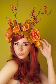"""Autumn"" Part 2  Sellf Portrait by Mandy Mennen Photography"