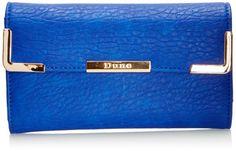 Dune Womens Karded Di Wallet 0002552826 Cobalt: Amazon.co.uk: Luggage