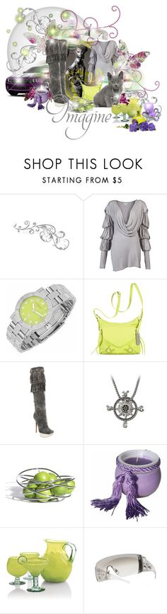 """Imagine"" by aquabunny ❤ liked on Polyvore featuring WALL, Forum, JULIA CLANCEY, Raymond Weil, Botkier, Gianmarco Lorenzi, Swarovski, Black+Blum, Sonoma Lavender and Crate and Barrel"
