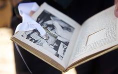 Альтернатива подушечке для колец: книга с секретом