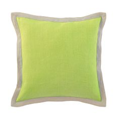Emerson Pillow in Lime | Room Furnishing Accessories, Accent Pillows from Company C #DreamInColor