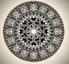 coloriage-mandala-tout-en-couleurs-46 #mandala #coloriage #adulte via dessin2mandala.com