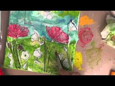 Mixed Media Canvas Tutorial - Penny Black Stamps