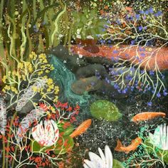 Beside the Pond - Kate Morgan - Artist & Illustrator