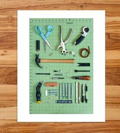 Leather Tools Taxonomy Photo Print by Mandy Mohler Photography on Scoutmob Shoppe