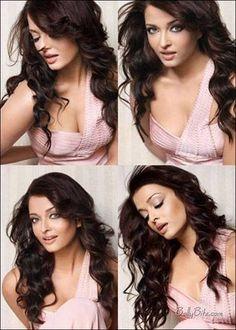 Aishwarya Rai's hair