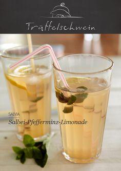 Salbei-Pfefferminz-Limonade
