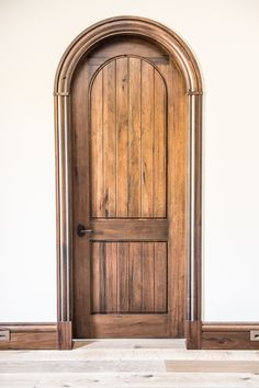Rustic Medieval Walnut, Hand-Crafted, Custom-Woodworking Modern Entrance Door, Modern Front Door, Modern Entryway, Grand Entrance, Entrance Doors, Custom Interior Doors, Modern Interior, Interior Design, Arched Doors