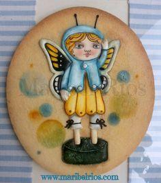 Cookies, royal icing, volumen, pintado a mano