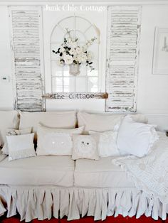 Junk Chic Cottage: Living Room Changes